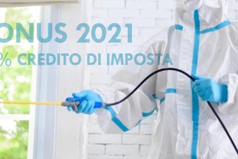 bonus 2021 sanificazione ambientali credito imposta sp solution sanificazione palermo